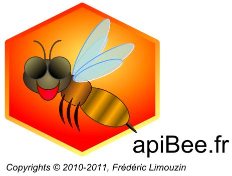 logo de apibee.fr, Frédéric Limouzin